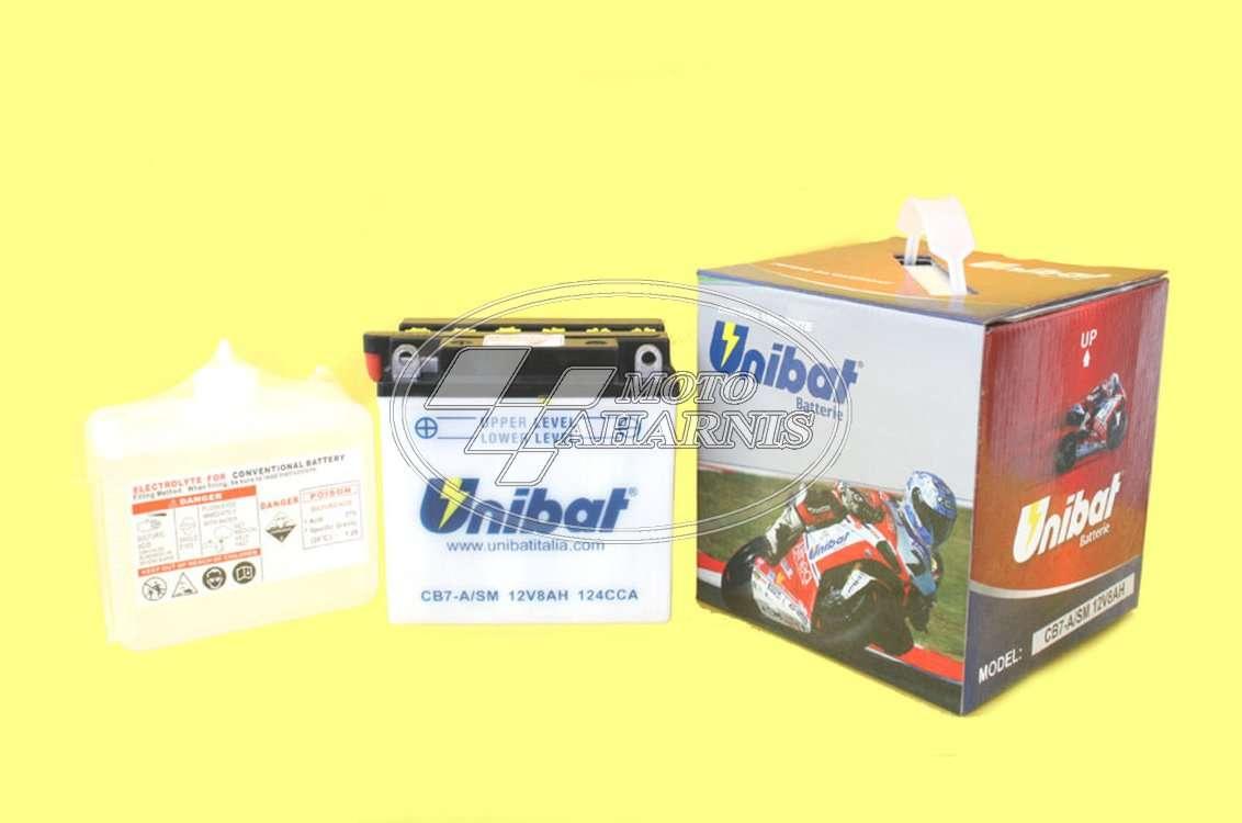 ΜΠΑΤΑΡΙΑ UNIBAT YB7-A